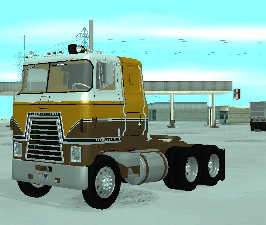Arlan S Trucks Files 1975 International Transtar Ii Custom