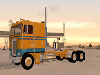Kenworth K100 Extended Wheel Base