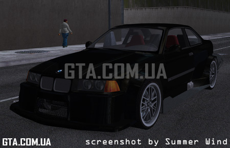 "BMW M3 (E36) ""TT Black Revel"""