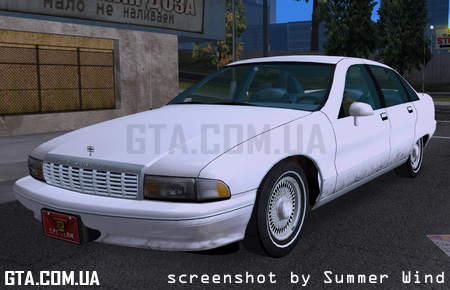 "1991 Chevrolet Caprice Classic ""Dirty Edition"" v2.0"