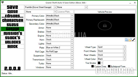 Ultimate GTA V Save Editor v2.0.0.8 (Xbox 360)