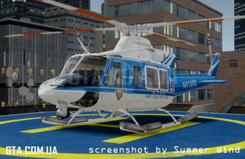 Bell 412 NYPD Air Sea Rescue Helicopter v1.1
