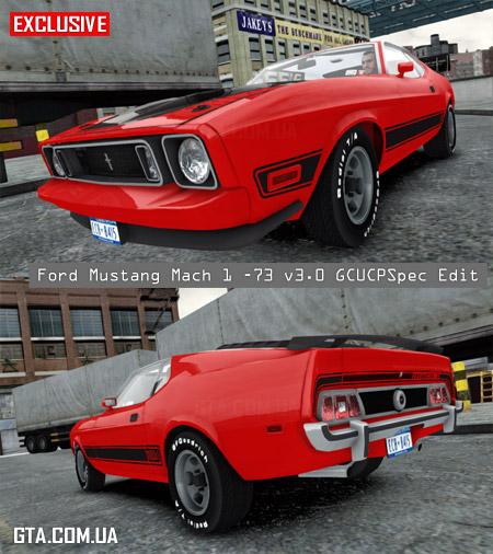Ford Mustang Mach 1 1973 v3.0 GCUCPSpec Edit