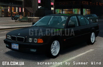 BMW 750i (E38) 1998 M Packet