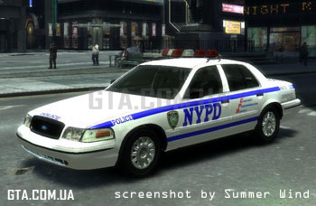 Ford Crown Victoria 2003 NYPD Highway Patrol