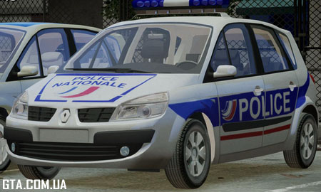 Renault Scenic II Phase 2 Police