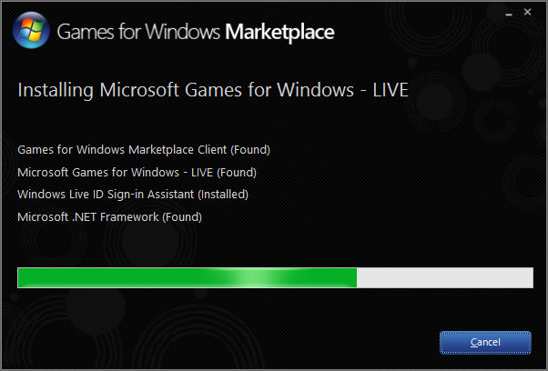 Microsoft Games for Windows - LIVE Client v3.5.89.0