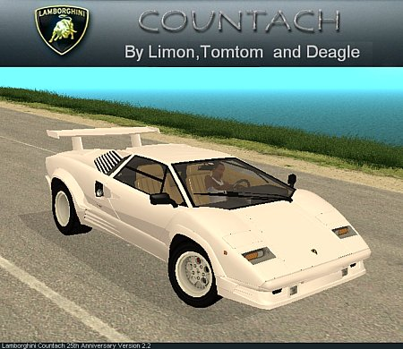 lamborghini countach 25th anniversary gta san andreas. Black Bedroom Furniture Sets. Home Design Ideas