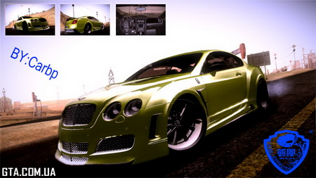 Bentley Continental GT Premier 4509 2008 v3.0