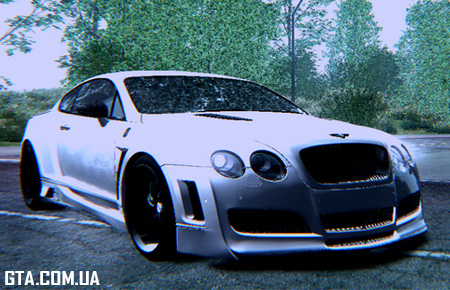 Bentley Platinum Motorsports Continental GT 2011