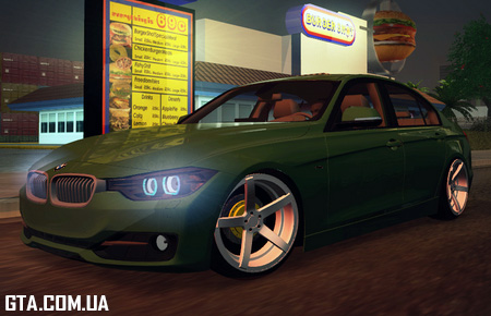 BMW 3-Series (F30) Stanced 2012