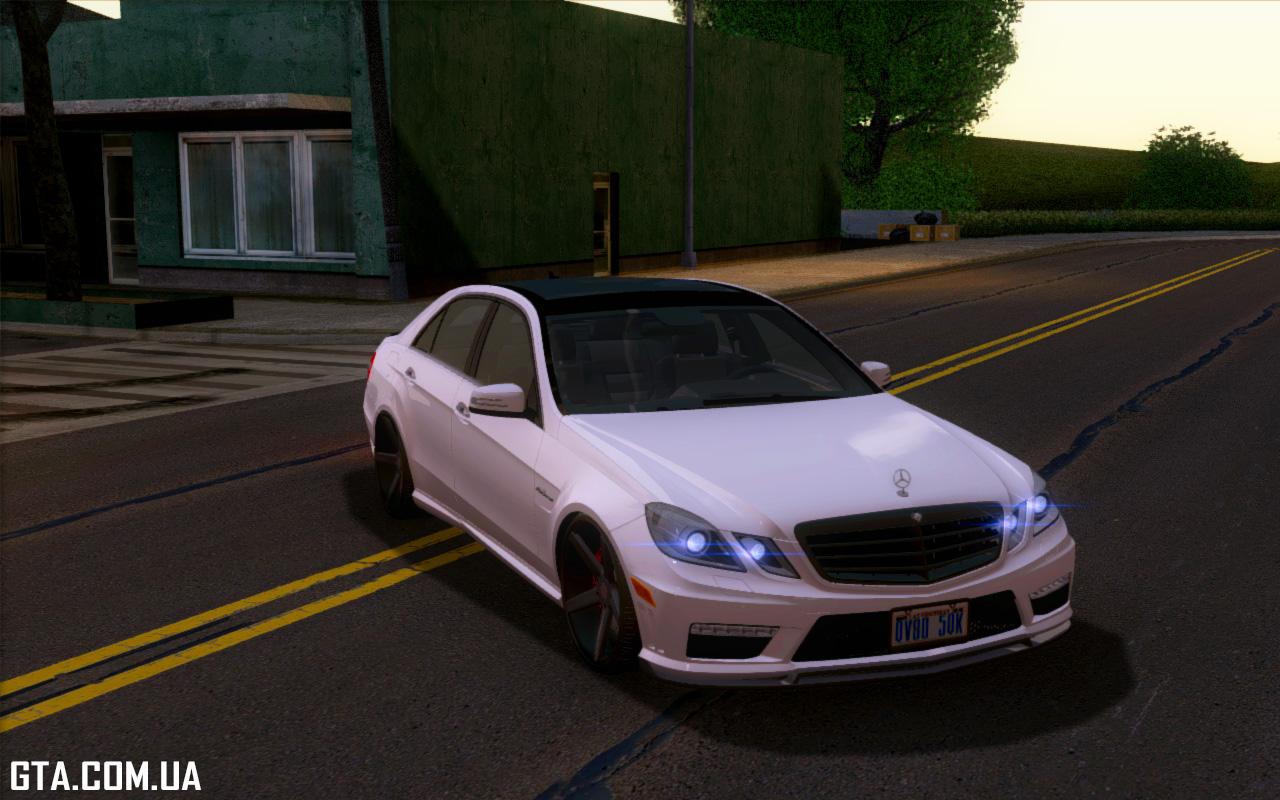 Mercedes benz e63 amg vossen 2011 gta san for 2011 mercedes benz e63 amg