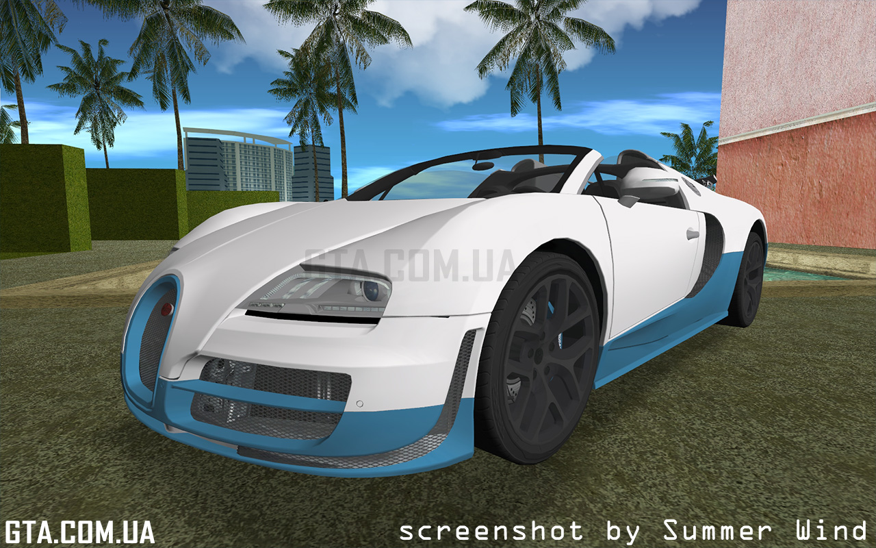 bugatti veyron grand sport vitesse 2012 gta vice city. Black Bedroom Furniture Sets. Home Design Ideas