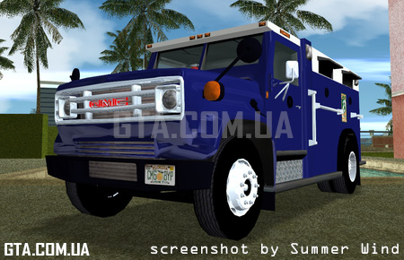 GMC 6000 1985 Armored Truck