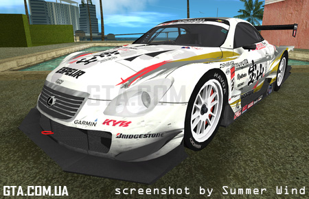 Lexus SC430 Super GT Type 3
