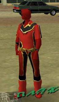 Red Power Ranger Skin for GTA:VC