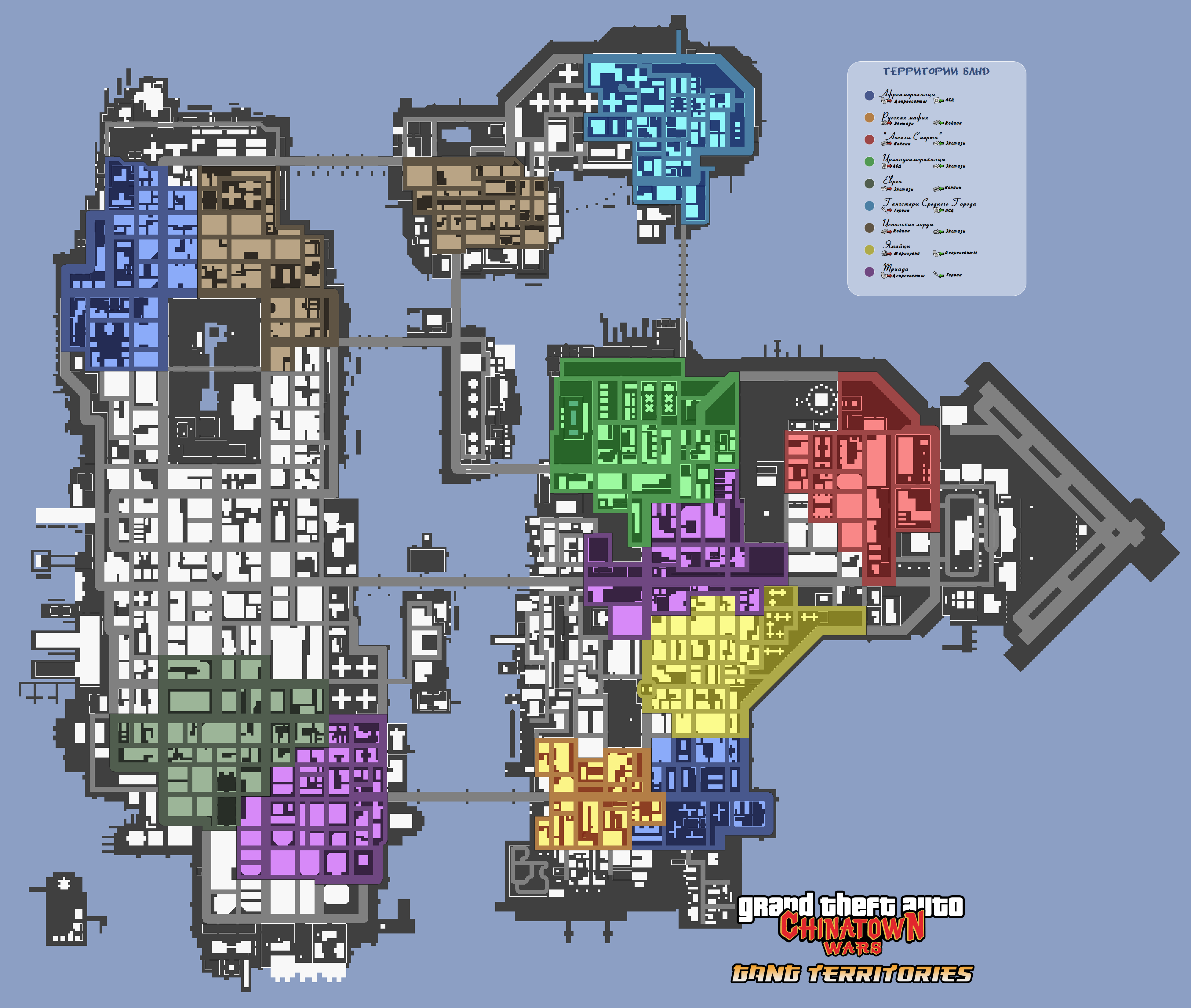 Chinatown Wars Maps on Gta Online Car Locations