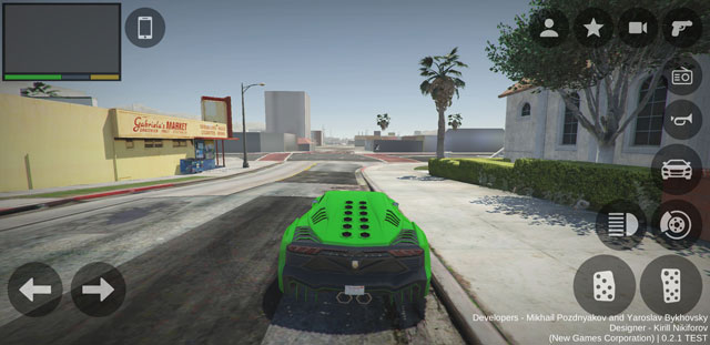 Screenshots GTA 5 Android