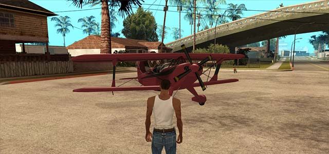 Stunt Plane Cheat