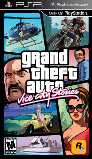 Скачать GTA Vice City Stories на PSP