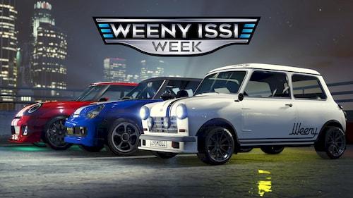 Неделя автопроизводителя Weeny в GTA Online