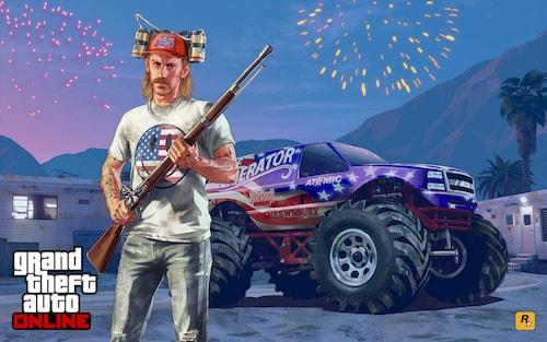 В GTA Online отмечают День независимости 2020