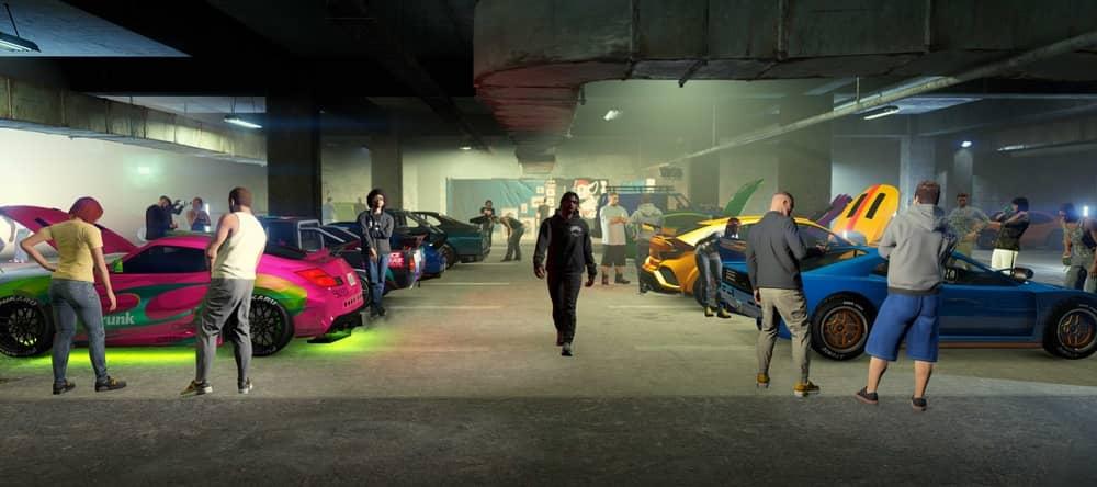 Подземный гараж Автосходки
