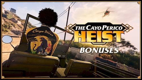 Кайо-Перико и бонусы от Rockstar Games