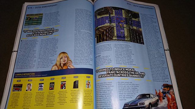 Official PlayStation Magazine отметил юбилей GTA