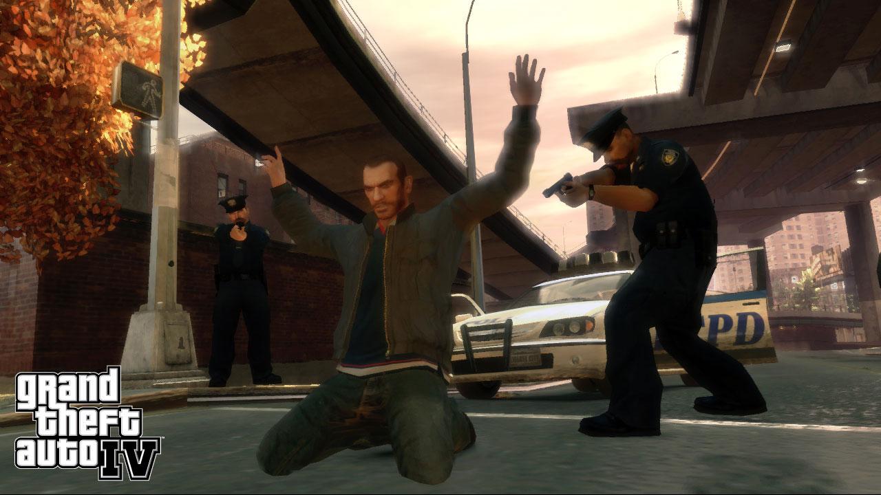 Скриншот GTA 4 / Grand Theft Auto IV (2008) RePack от R.G. МЕХАНИКИ скачать торрент бесплатно