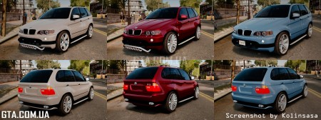 BMW X5 4.8iS (Pack)
