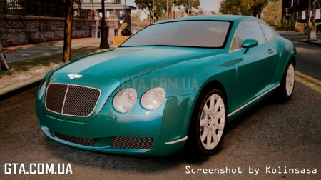 Bentley Continental GT 2004 [EPM]