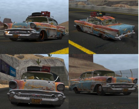Chevrolet Bel Air 1957 (Rusty) v1.0