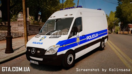 Mercedes-Benz Sprinter Croatian Police v2.0 [ELS]