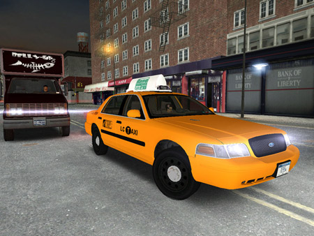 Ford Crown Victoria P70 LWB Taxi
