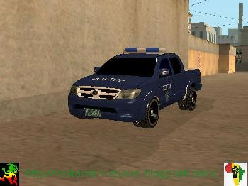 Toyota Hilux Somaliland Police