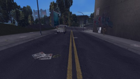 GTA3 HD Road