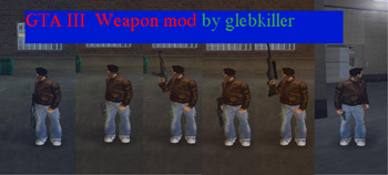 GTA III Some CSS weapons