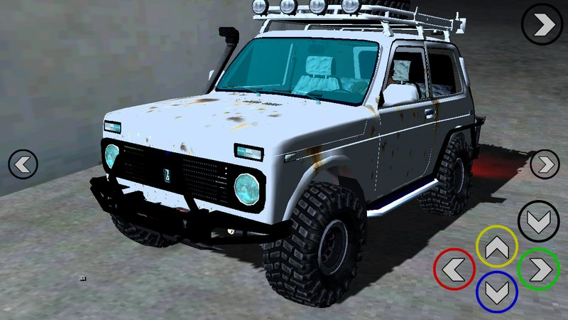 Lada Niva 4x4 Off Road