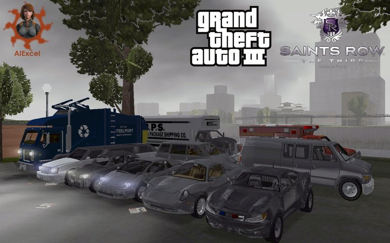 Saints Row The Third Vehicle Pack