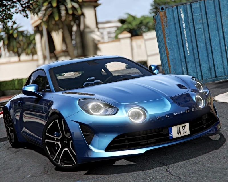 Alpine A110 2018 (Add-On) v0.2