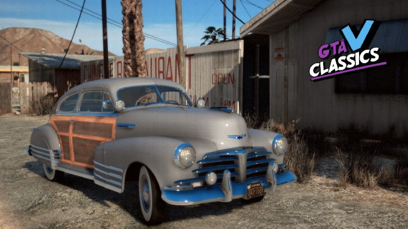 Chevrolet Fleetline Aerosedan 1948 (Add-On) v1.0