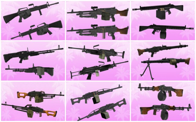 GTA Vice City Machine Gun Pack