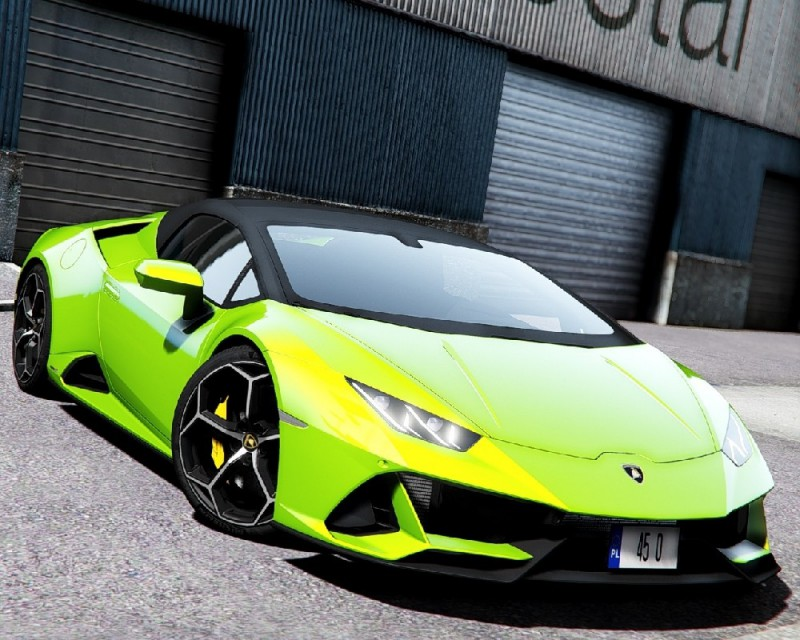 Lamborghini Huracan Evo Spyder 2020 (Add-On) v2.0