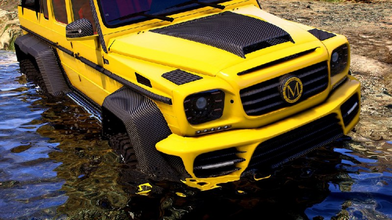 Mercedes Mansory Gronos 6x6 Xtreme (Add-On/Replace) v1.0