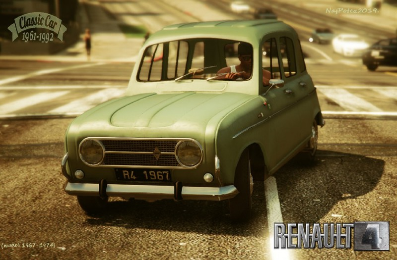 Renault 4 (Add-On/Replace) v1.1