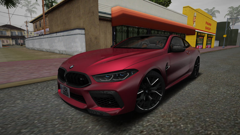 BMW M8 Competition (F93) 2021