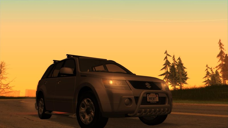 Suzuki Grand Vitara 2008 (US-Spec)