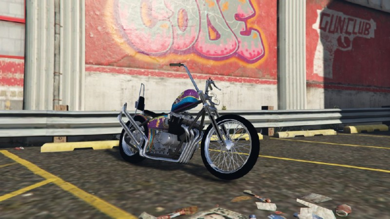 Honda CB750 Chopper (Add-On) v1.2