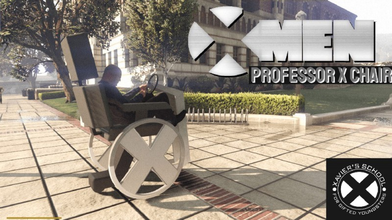 X-Men's Professor X Wheelchair (Add-On) v1.1